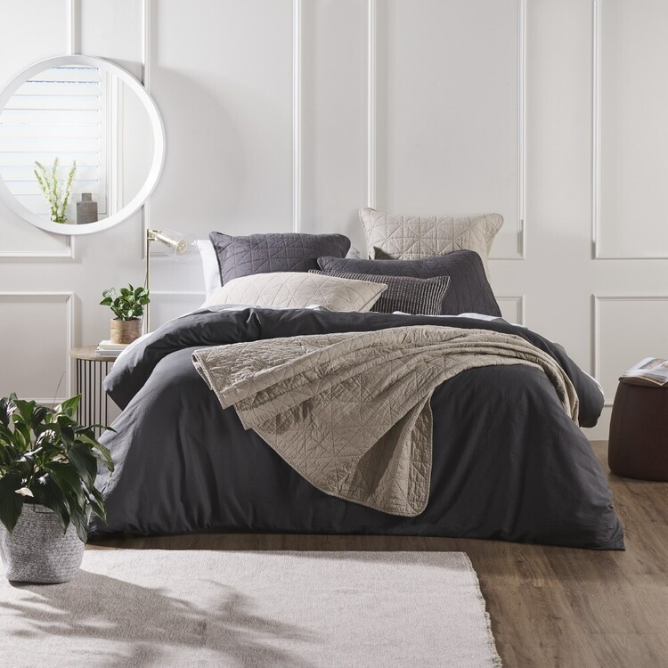 KOO Loft Cotton Linen Quilt Cover Set