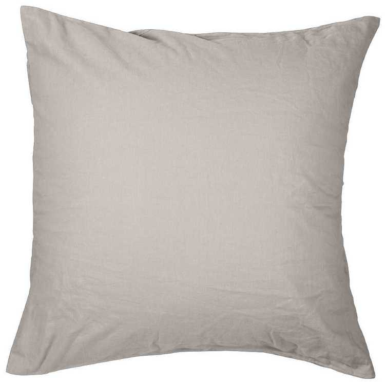 KOO Loft Linen Cotton European Pillowcase