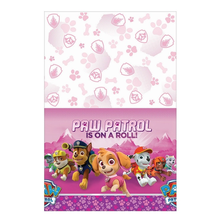 Paw Patrol Nickelodeon Plastic Girls Tablecover