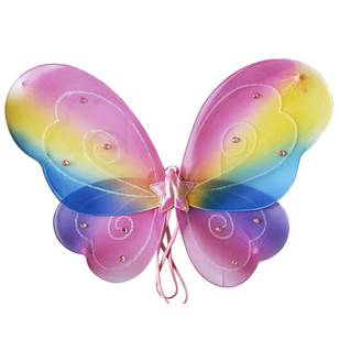 Party Additions Rainbow Wings