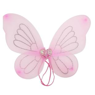 Party Additions Pink Wing With Heart
