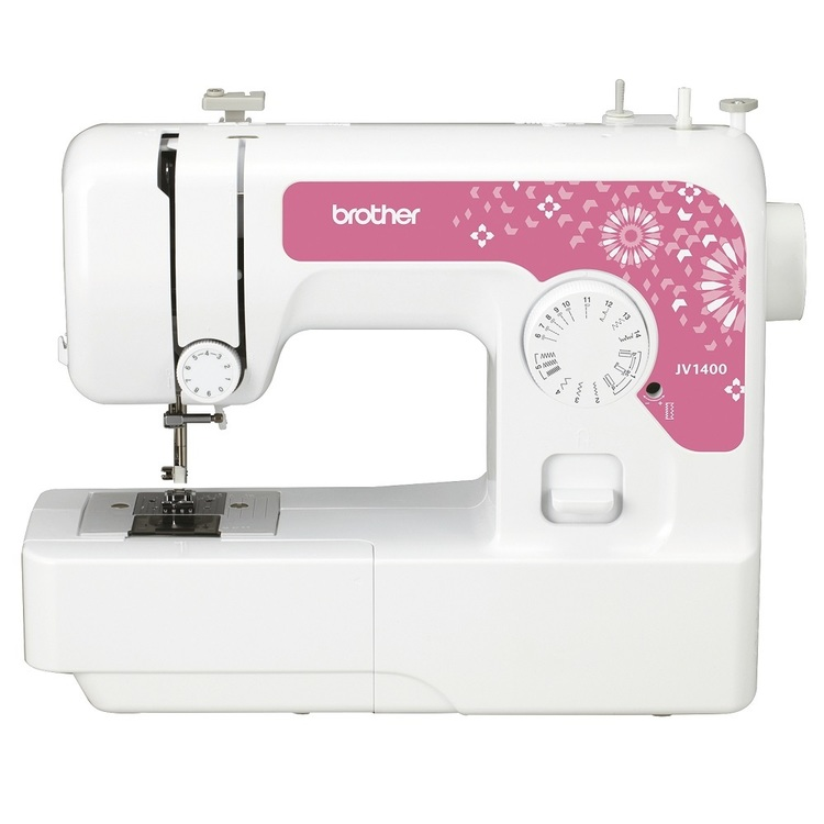 Brother JV1400 Sewing Machine White & Pink