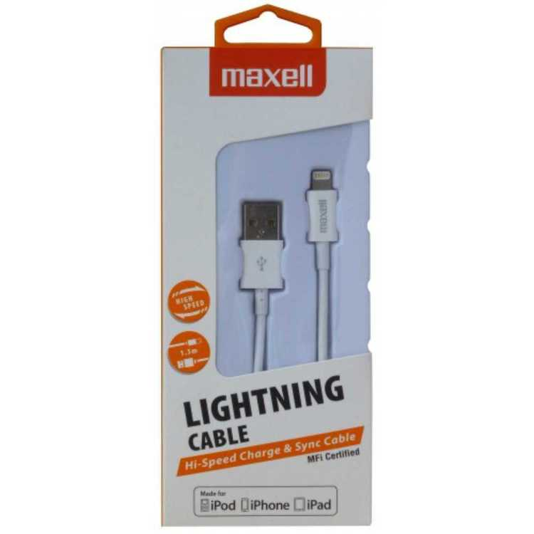 Maxell Lightning Cable Black