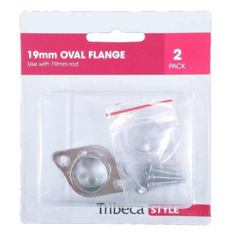 Tribeca 19 mm Oval Flange Bracket