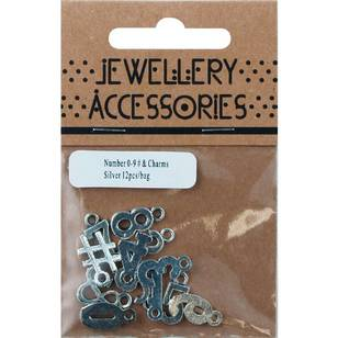 Charms Numbers 12 Piece