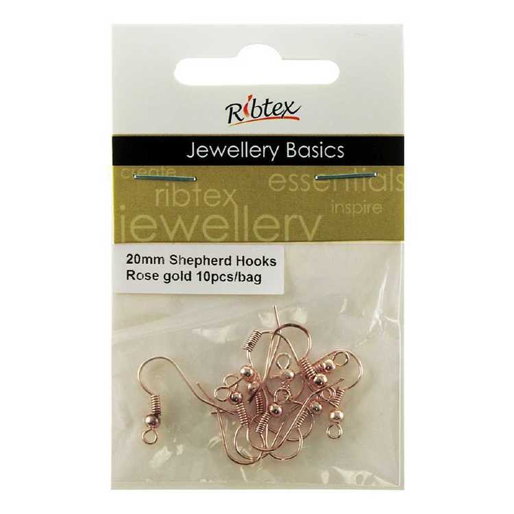 Ribtex Jewellery Basics Sheperd Hooks 10 Pack