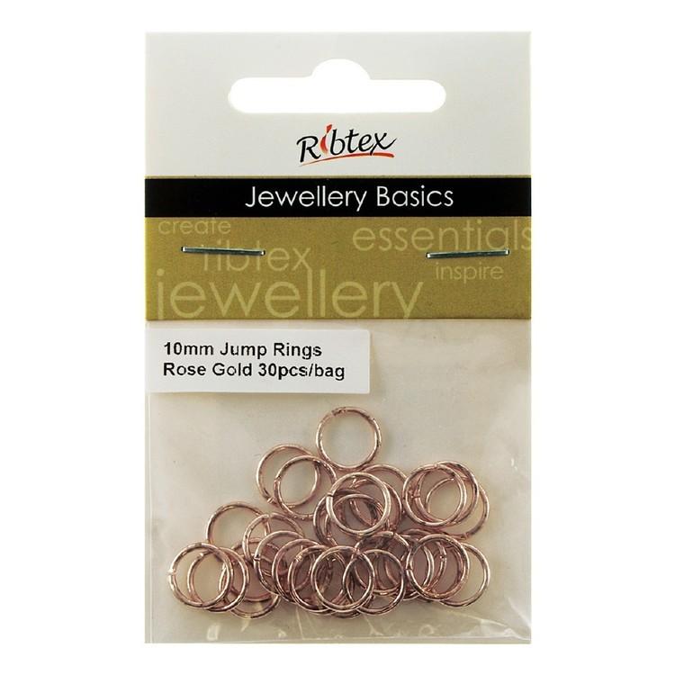 Ribtex Jewellery Basics Jump Rings 30 Pack