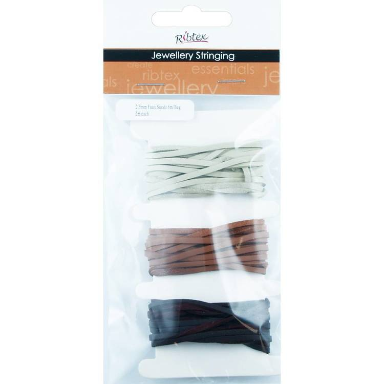 Faux Leather Cord 3 mm 6 Metres