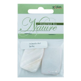 Ribtex Inspired By Nature Rectangular Shell 2 Pack