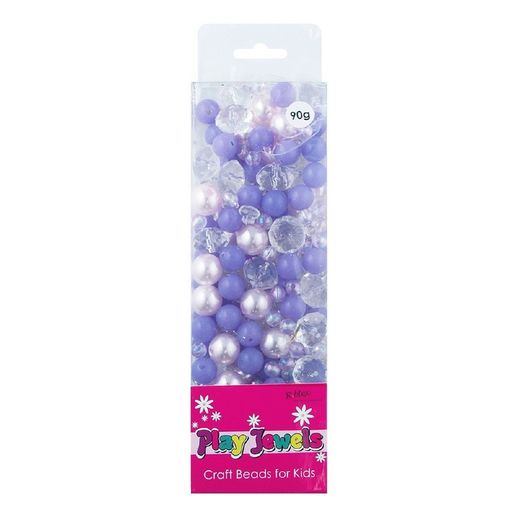 Ribtex Play Jewels Pearl & Crystal Beads