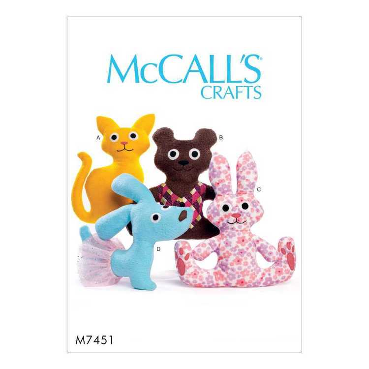 McCall's Pattern M7451 Cat
