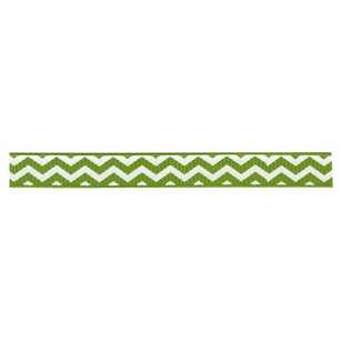 American Crafts Leaf Chevron Ribbon