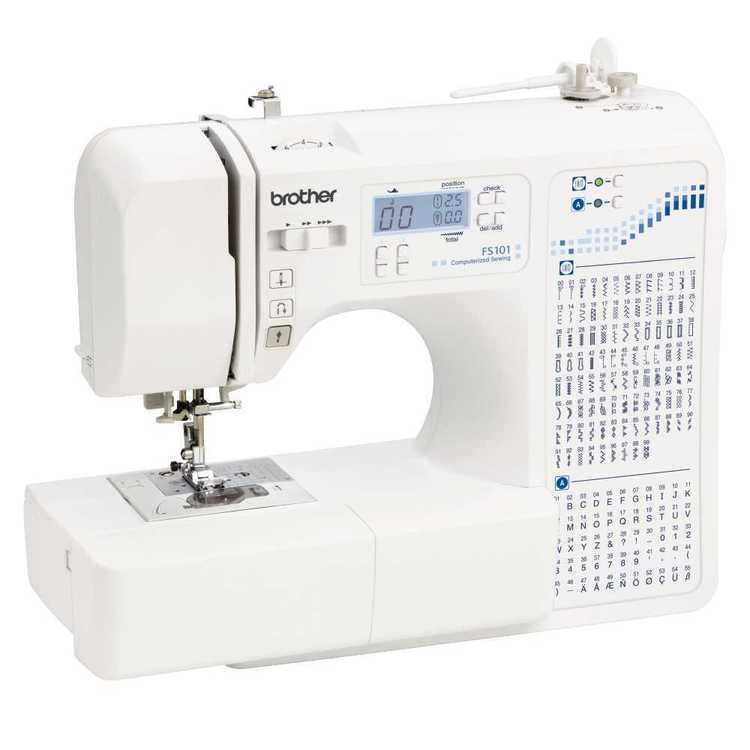 Brother FS101 Computerised Sewing Machine White