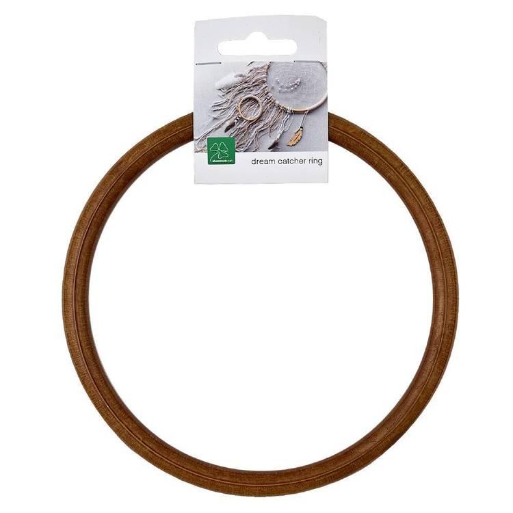 Shamrock Craft Wood-Look Acrylic Ring