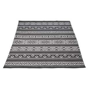 Cotton Aztec Woven Reversible Rug