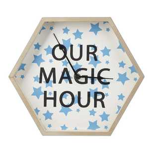 Ombre Blu Mason Magic Hour Clock