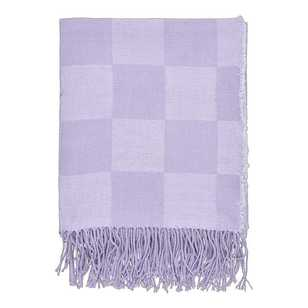 Ombre Blu Harper Fringed Throw