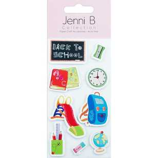Jenni B Back To School Sticker