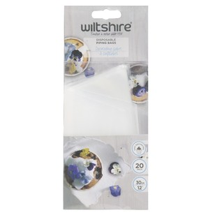 Wiltshire Piping Bags 20 Pack