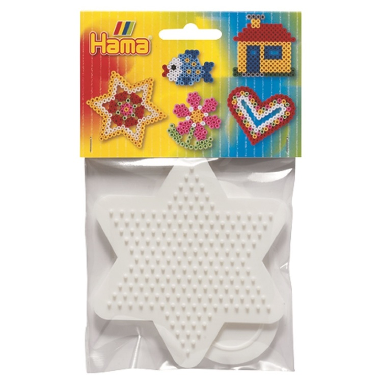 Hama Heart & Star Peg Boards