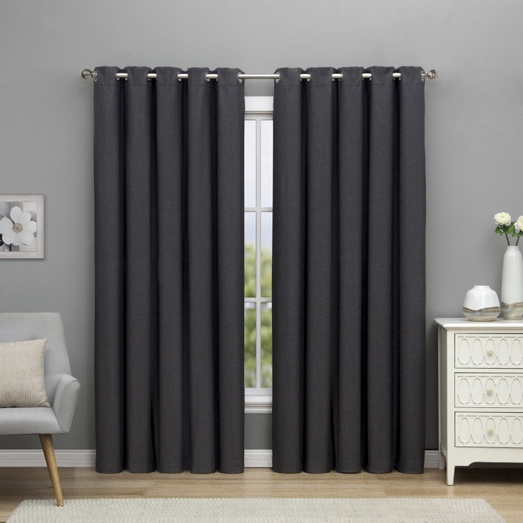 Turner Blockout Eyelet Cut, Hem & Hang Curtain Fabric