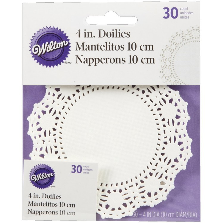 Wilton Grease Proof Round Doilies