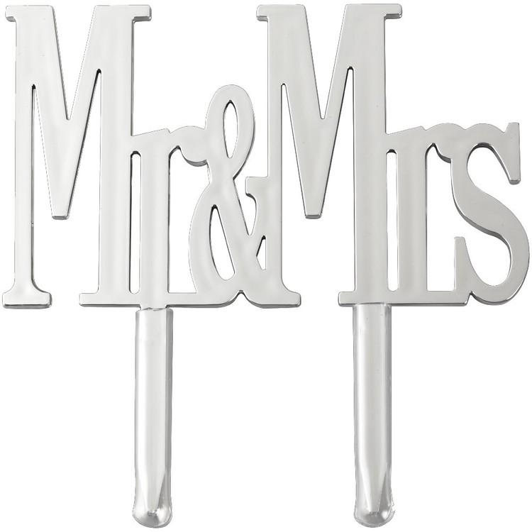 Wilton Mr & Mrs Cake Pick