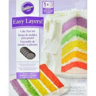 Wilton 5 Layer Cake Pan Set