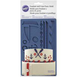 Wilton Nautical Fondant & Gum Paste Mould