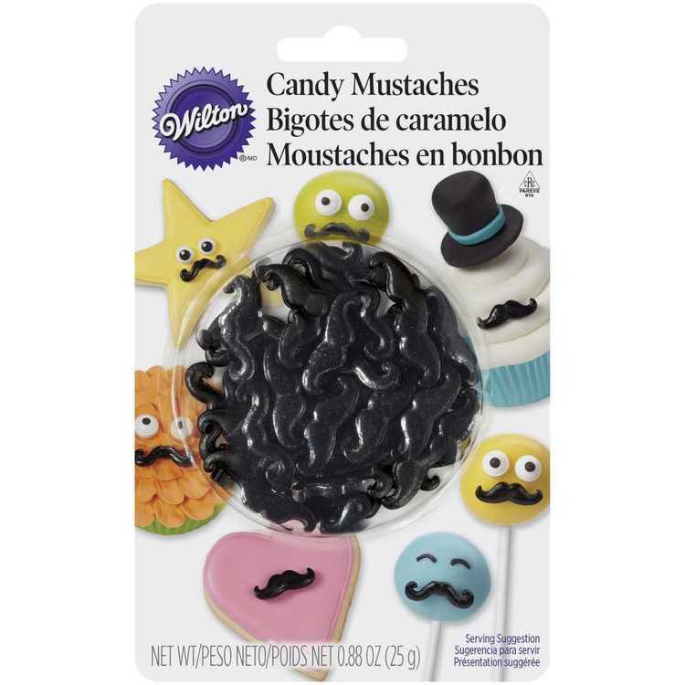 Wilton Candy Moustaches