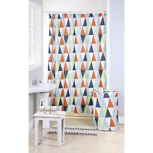 Cloud 9 Triangle Shower Curtain