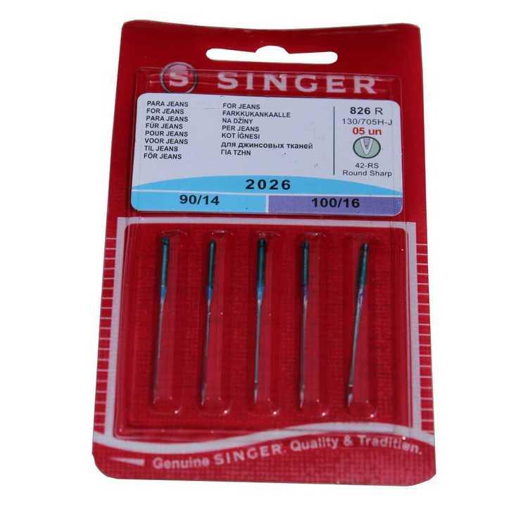 Singer Jeans Needles 5 Pack