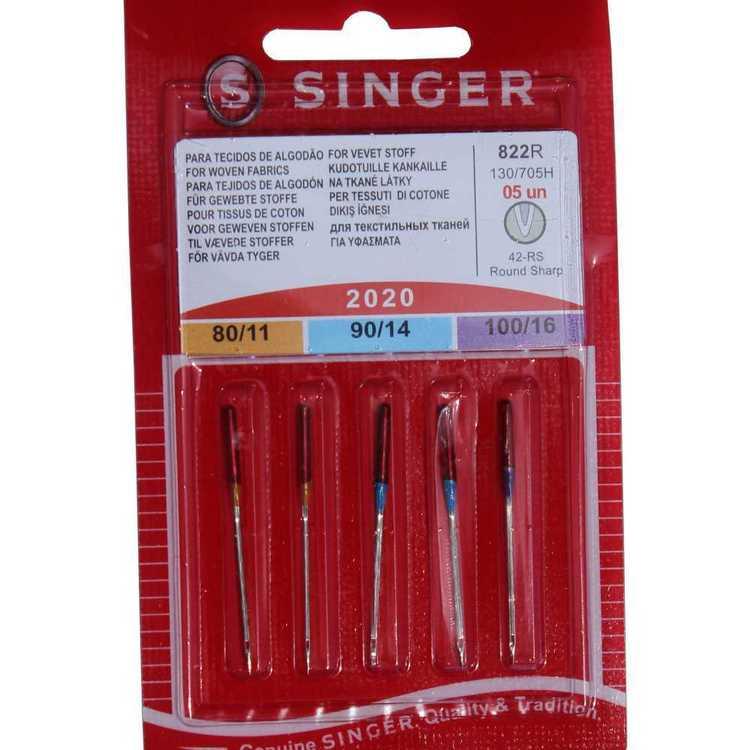 Singer Woven Needles 5 Pack