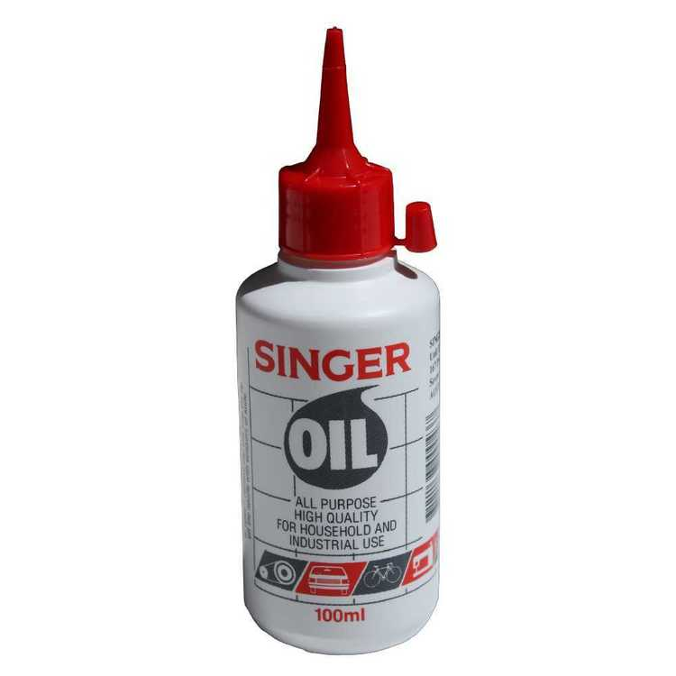 Singer Sewing Machine Oil Multicoloured 100 mL