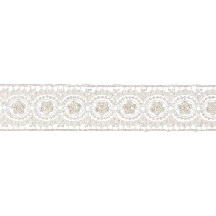 Simplicity Embroidered Band Lace