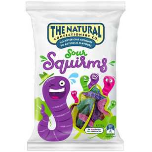 The Natural Confectionery Co. Squirms Sours