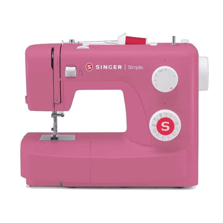 Singer Simple 3223 Retro Sewing Machine Pink