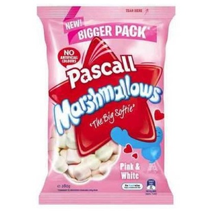 Pascall Vanilla & Raspberry Marshmallows