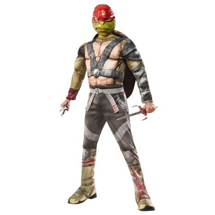 Teenage Mutant Ninja Turtles Raphael Deluxe Costume