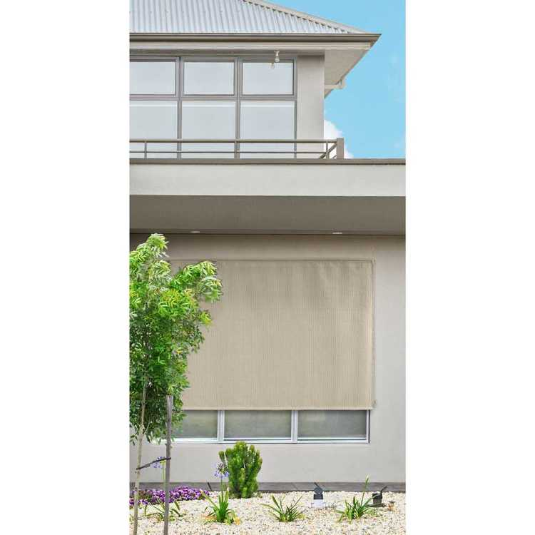 Caprice Outdoor Rollup Blind
