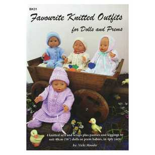 Favourite Knitted Outlifts For Dolls And Prems Book