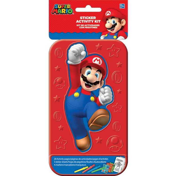 Nintendo Super Mario Bros Sticker Activity Kit