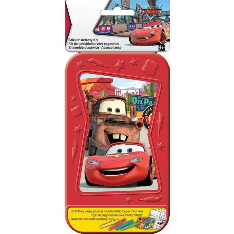 Disney Cars Sticker Activity Kit Multicoloured