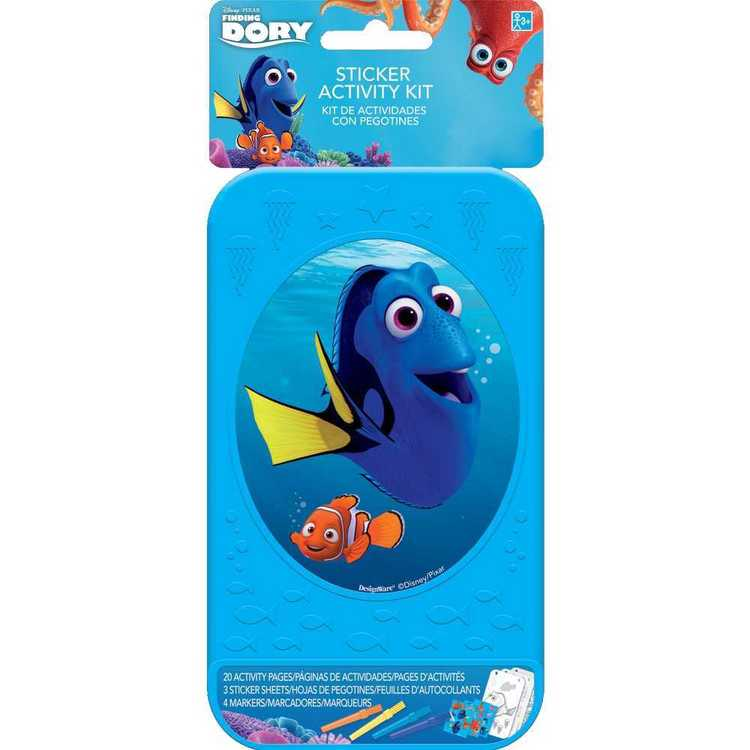 Finding Dory Disney Sticker Activity Kit