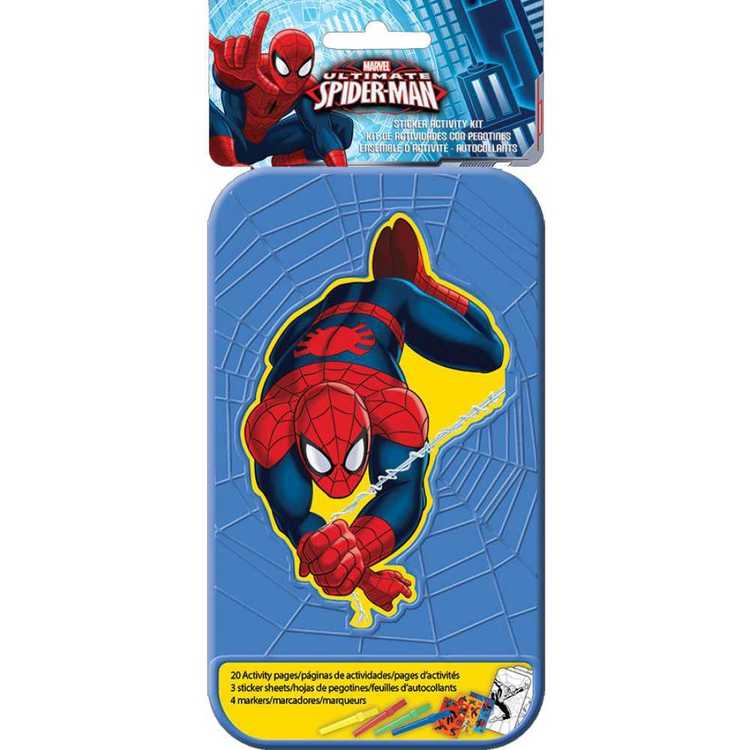 Spider-Man Spider-Man Sticker Activity Kit