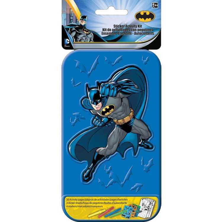 Batman Sticker Activity Kit