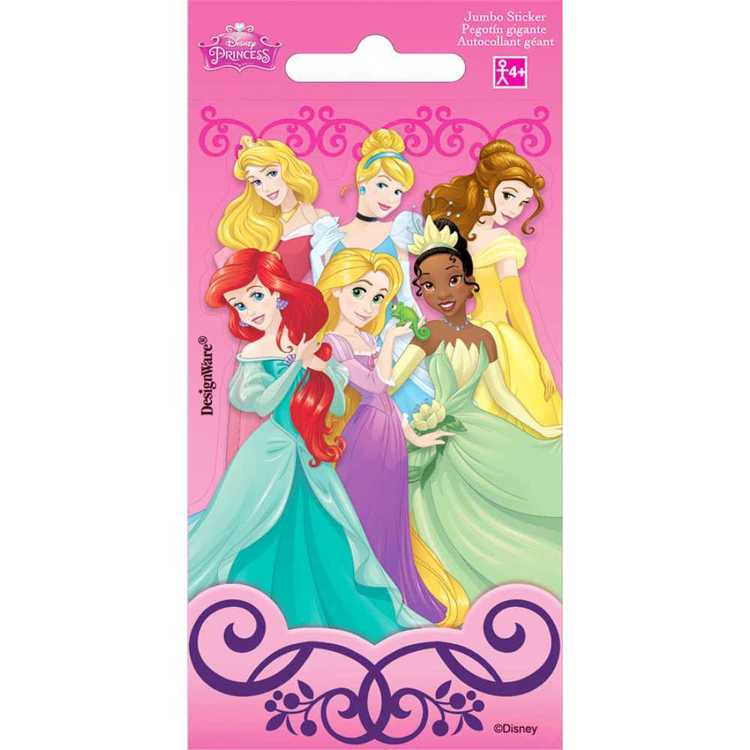 Disney Princess Jumbo Stickers