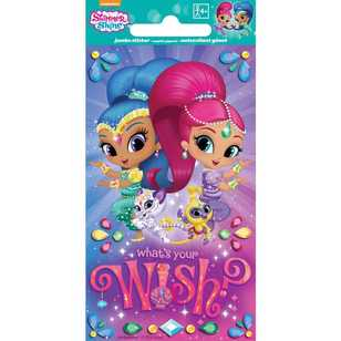 Nickelodeon Shimmer And Shine Jumbo Stickers