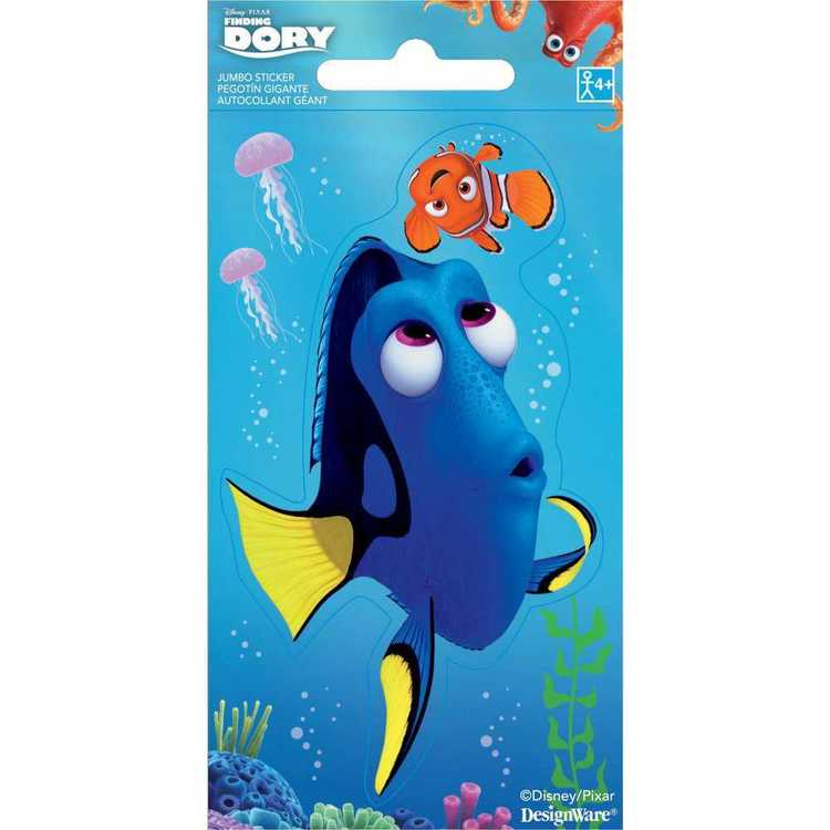Finding Dory Disney Jumbo Stickers Multicoloured