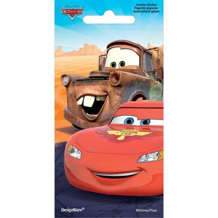 Disney Cars Jumbo Stickers